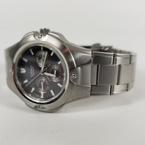 Casio Edifice Watch Stainless Steel